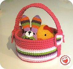 Ravelry: Easter basket pattern by Jen Maude