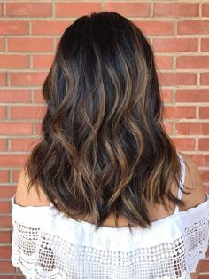 Image-Score for balayage dark hair – – … - All For Hair Color Trending Brunette Hair With Highlights, Balayage Highlights, Balyage For Dark Hair, Ombre For Dark Hair, Balayage Hair Dark Short, Copper Balayage Brunette, Partial Balayage Brunettes, Sunkissed Hair Brunette, Dark Ombre