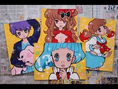 Madoka's Art Blog: Yellow Series