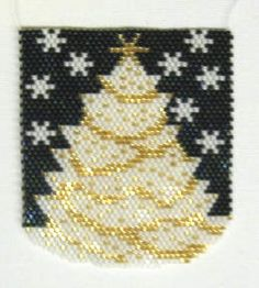 Instant Download - White Christmas Pendant Pattern