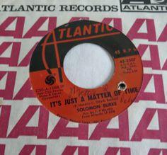 I WISH I KNEW   SOLOMON BURKE 1968 ATLANTIC 45 SINGLE 2507