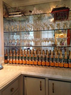 Creative Tonic loves a Veuve Clicquot Champagne Bar!