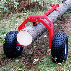 IRON BALTIC Helps you to make your all- terrain vehicle all it can be! How to purchase Iron Baltic Rear support: Log hauler ? Farm Projects, Metal Projects, Welding Projects, Tree Climbing Equipment, Portable Saw Mill, Log Carrier, Lumber Mill, Chainsaw Mill, Wood Planer