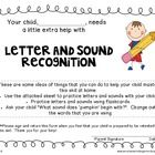 FREEBIE!  This take-home extra practice note and letter-sound correspondence sheet are specifically designed for students who need a little extra help with l...