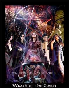 From our Seven Sins Series. Wrath of the Coven - 7 Sins by *xgnyc - XG Designs NYC.