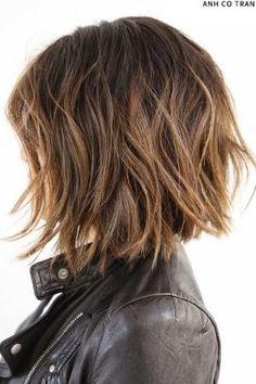 Hair Inspiration: Mid-Length Bob   sheerluxe.com   Hair   Pinterest by ginaska