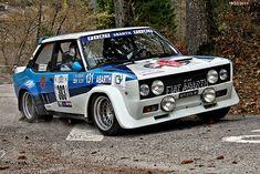 FIAT  131 Mirafiori Abarth  - 3 Rally HISTORIC VALSUGANA  19.03.2011