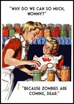 The Zombies are Coming -Emergency Preparedness - Preparedness Mama