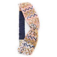 Namrata Joshipura Moroccan Turban Headband ($39) ❤ liked on Polyvore featuring accessories, hair accessories, pink multi, twist headband, sequin hair accessories, head wrap turban, turban headband and head wrap hair accessories