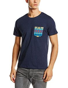 Jack & Jones Men's Crew Neck Short Sleeve T-Shirt | My Design In Web |  Pinterest | Shorts, Shirts and Jack o'connell