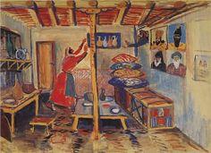 A room - Martiros Saryan 1935
