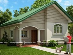 Modern bungalow house philippines small bungalow house plans new small house design modern small bungalow house design home design modern modern zen Bungalow Style House, Small Bungalow, Bungalow House Plans, Bungalow Designs, Wooden House Design, Small Wooden House, Small House Plans, Small Houses, Home Design