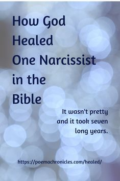 This one man had it all until God decided to teach him a long hard lesson. Sainte Rita, Narcissistic Behavior, Christian Faith, Christian Living, Christian Marriage, Narcissistic Personality Disorder, Christian Inspiration, Found Out, Bible Scriptures