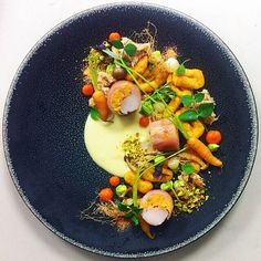 Rabbit and carrots by @seanymacd #TheArtOfPlating