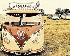 brown vw bus splitty #volkswagen ☮ re-pinned by http://www.wfpblogs.com/author/southfloridah2o/
