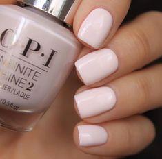 Blush pink nail polish #nails #nail