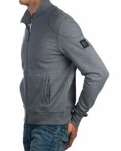 d0b094323bcc Grey Belstaff Jacket Sweatshirt - Staplefield