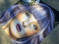 Sidewalk Chalk Art by Jessi Queen at Chiaha Harvest Fair