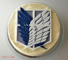Shingeki no kyojin . Scout legion. Cake