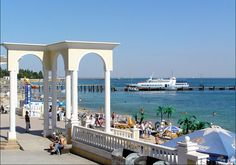 Evpatoria - one of the finest family resorts in the Crimea.
