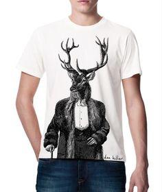 Dan Hillier, Stag T-shirt- £25.00