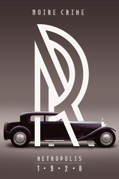 Le Metropolis, une fonte Art Deco de Josip Kelava / étapes: design & culture visuelle