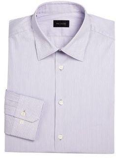 Pal Zileri Striped Slim-Fit Dress Shirt