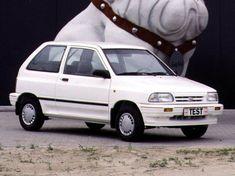Kia Pride 3-door '12.1986–02.2000 Kia Pride, Kia Motors, Old Cars, Jdm, Classic Cars, Vehicles, Evolution, Korea, Sport