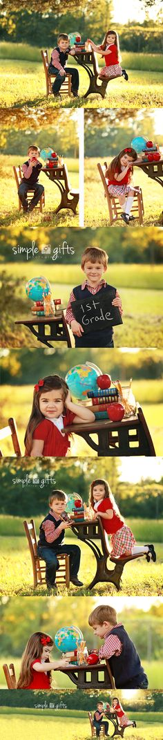 """Back to School"" Simple Gifts Photography"