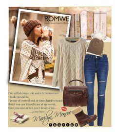 """Romwe 9/VII"" by merima-p ❤ liked on Polyvore featuring women's clothing, women's fashion, women, female, woman, misses and juniors"