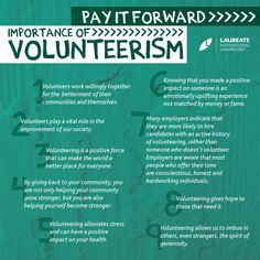 People #volunteer for a number of different reasons, ranging from a desire to learn new skills, have fun or make a difference. Volunteering is such a meaningful experience, taking you further out of your comfort zone and offering far greater rewards. #LaureateIU #Volunteersim