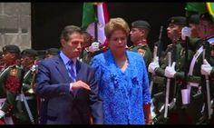 Galdino Saquarema 1ª Página: Dilma e presidente mexicano assinam acordo econômico