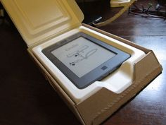 Kindle touch box