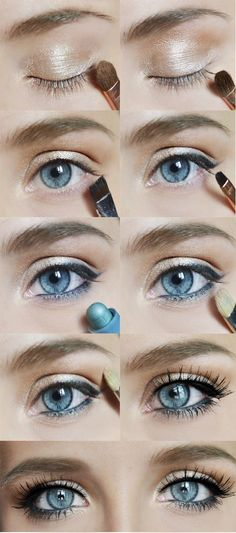 Eye makeup for any eye color