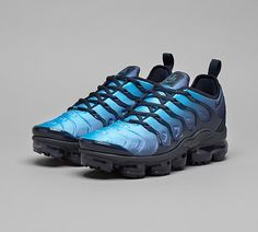 27036ee222 Nike Air VaporMax Plus Trainer | Obsidian / Photo Blue | Footasylum Photo  Blue, Nike
