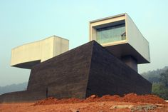 Nanjing Sifang Art Musem by Steven Holl Architects