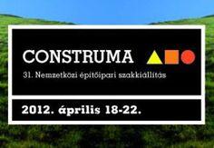 Construma 2012. Építőipari szakkiállítás 31. alkalommal a Hungexpon 2012 április 18-22. Az építőipar legrangosabb és legnagyobb hazai fóruma, a CONSTRUMA színvonalas kísérőprogramok mellett számos újdonságot kínál a résztvevőknek, immár a 31. alkalommal.