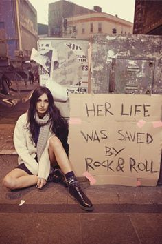 saved by rock n roll