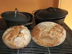 Transitional whole-wheat sourdough no-knead breads