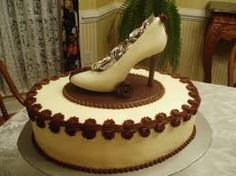 Chocolate shoe cake