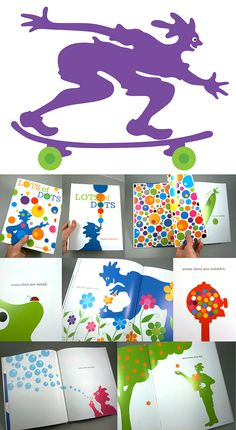Great Kid Books: Lots of Dots, by Craig Frazier (ages 2 - 6) and a fun art gift