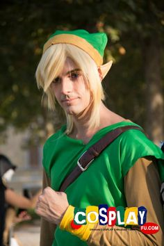 Link Cosplay from The Legend of Zelda at LUCCA COMICS AND GAMES
