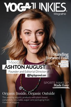 We're so excited to introduce Ashton August, the full-time yogi, editorial director, and founder of YogiApproved.com–one of the world's biggest yoga & wellness digital magazines. However, YogiApproved is not just a beautiful online magazine, they also offer premium on-demand yoga and fitness classes, and have an amazing YouTube channel dedicated to yoga flows, product reviews, and all things yoga lifestyle.  Read more about Ashton at www.yogajunkies.com #yoga #yogalifestyle #yogajunkies My Fitness Pal, Fitness Goals, Fitness Classes, Lifestyle Articles, Yoga Lifestyle, Fitness Activity Tracker, Workout Accessories, Digital Magazine, Yoga Flow
