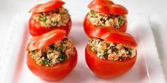 Tomates farcies au saumon