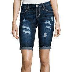Ariya Ariya Juniors Curvy Low Rise Bermuda Shorts