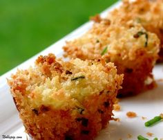 Mini Crab Cakes - from bonappetite.com crispy parmesan and panko crust, baked in muffin tins. simple and healthy