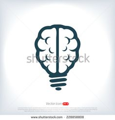 Stock Images similar to ID 186498917 - flat design lightbulb