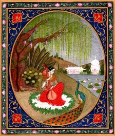 The Plums Tasted The plums tasted sweet to the unlettered desert-tribe girl- but what manners! To chew into each!  She was ungainly, low-caste, ill mannered and dirty, but the god took the fruit she'd been sucking.  Why? She knew how to love. She might not distinguish splendor from filth but she'd tasted the nectar of passion.  Might not know any Veda, but a chariot swept her away- now she frolics in heaven, ecstatically bound to her god.  The Lord of Fallen Fools, says Mira, will save…