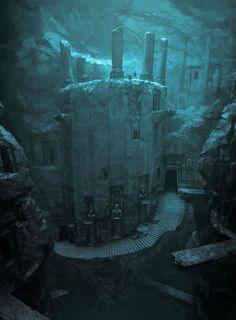 House of Crom (Temple à l'intérieur d'une caverne):