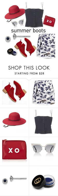 """Summer Boots"" by queenofsienna ❤ liked on Polyvore featuring Jeffrey Campbell, Peter Grimm, Dolce&Gabbana, Barneys New York, Fendi, BillyTheTree and Gucci"
